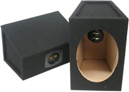 "Car Audio Custom 6"" X 9"" Sealed Hi Quality Pair Speaker Encl"