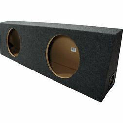 Car Audio Dual 12-Inch Reg Cab Truck Subwoofer Enclosure Spe