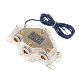 MagiDeal Car Audio Power Distribution Block Digital Display