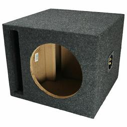 Car Audio Single 10 Slot Ported Subwoofer Labyrinth Bass Spe
