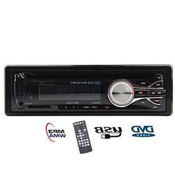 Eincar Car Audio Stereo 1 DIN In Dash 12V Fm Receiver with U