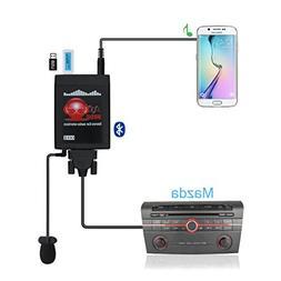 Yomikoo Car Bluetooth USB/AUX adapter, Car Radio Digital CD