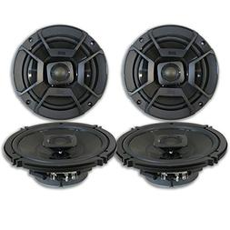 "4 x Polk Audio 6.5"" 2-Way Car Audio Boat Marine UTV Audio Co"