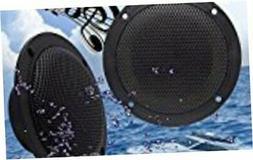Car Boat Waterproof Marine Speakers 2-Way Full Range Audio S