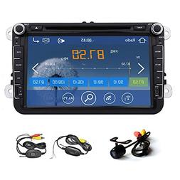 Car DVD Player GPS Navigation Radio 8 Inch LCD Touchscreen F