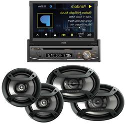"Jensen Car DVD Player Receiver w Pioneer 200W 6.5"" + 230W 6x"