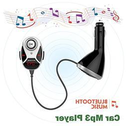 Eincar Newest Car Kit Handsfree FM Transmitter LED screen Ca