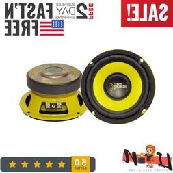 Car Mid Bass Speaker System,5 Inch 200 Watt 4 Ohm Auto Mid-B