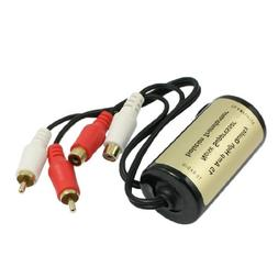 uxcell Car RCA Male to Female Ground Loop Isolator Noise Fil