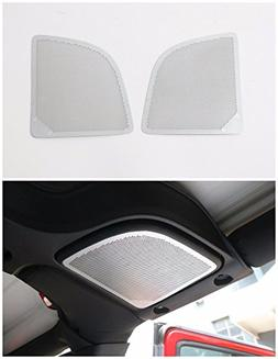 Pulidi Car Roof Speaker Decorative Cover Frame For Jeep Wran