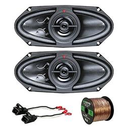 Car Speaker Package of 2X Kenwood KFC415C 320 Watt 4x10 160W