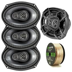 "Car Speaker Package Of 4x Kicker 43CSC6934 900-Watt 6"" x 9"""
