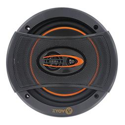 VOYZ 750 Watts Car Speakers 6 x 5 Inches 3 Way - High Perfor