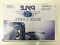 "Car Speakers 4 x 6"" Stereo 240W 3 Way Full Range Car Audio"