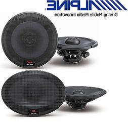 "Alpine 6.5 inch 300W 2-Way Car Speakers 6""X9"" 300W Loud Type"