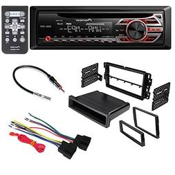 CAR Stereo Radio CD Player Receiver Install Mount KIT Harnes