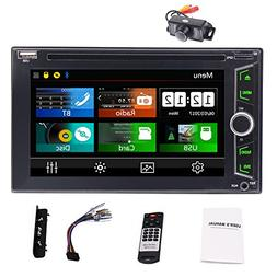 Eincar Car Stereo Radio Double Din with Bluetooth 6.2 Inch I