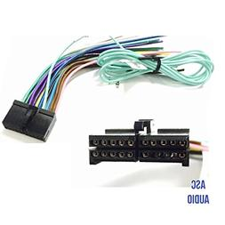 ASC Audio Car Stereo Radio Wire Harness Plug for select Boss