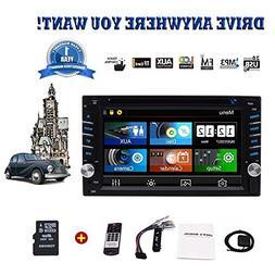 """Best Buy Car Stereo - 6.2"""" Wince Double Din Car Radio Car Au"""