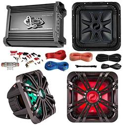"""Car Subwoofer And Amp Combo: Kicker 11S10L74 10"""" Audio Subwo"""