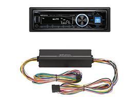 Alpine CDE-143BT Advanced Bluetooth CD Receiver with KTP-445