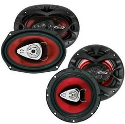 "BOSS CH6530 6.5"" 3 Way300w + 6x9"" CH6930 350W Car Coaxial Sp"