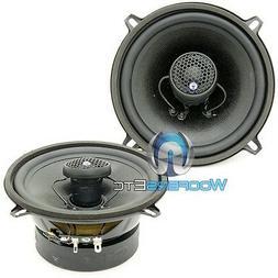 "CDT AUDIO CL-5EX CAR 5.25"" COAXIAL 2-WAY SILK DOME TWEETERS"