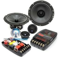"CDT AUDIO CL-61A-25 PRO CLASSIC 6.5"" COMPONENT SPEAKERS CROS"