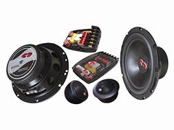 "CL-61BE.2  CDT Audio 6.5"" 2-Way Component Speaker Set 2-Ohm"