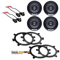 Coaxial Speakers Speaker Adapters Car Stereo Wiring Harness