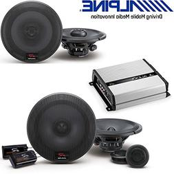 Alpine 6.5 inch 300W Component 2-Way Car Speakers R-Series 6