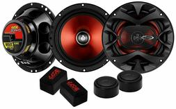 "Component Set - BOSS Audio Car Speakers 6.5"" Full Range, 300"
