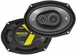 "Kicker CS Series 6x9"" 3-Way 450 Watts Car Speakers - Pair -"