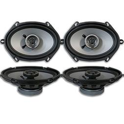 Crunch CS5768CX 5x7 / 6x8 2-way Car audio coaxial speakers