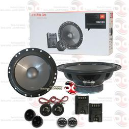 BRAND NEW JBL 6.5 INCH 2-WAY CAR AUDIO COMPONENT SPEAKER SYS