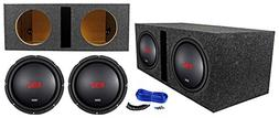 "Boss Audio CXX104DVC 10"" 2000 Watt Car Subwoofers+Vented Su"