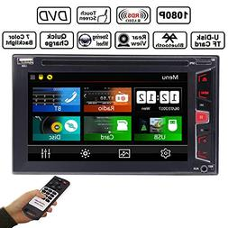 "In Dash 6.2"" Capacitive Touch Screen Car Audio Stereo Receiv"