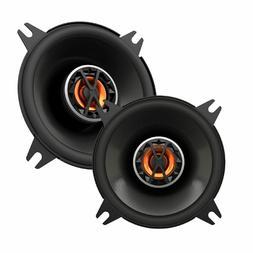 Polk Audio DB401 4-Inch Pair Coaxial Speakers - Silver