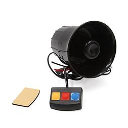 uxcell DC 12V 3 Tone Sounds Loud Speaker Security Warning Si