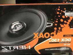 Hertz DCX130.3 5 Inch 80 Watt 4 Ohm 2 Way Coaxial Car Audio