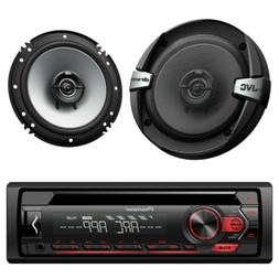 DEH-S1000UB Car CD MP3 Stereo Player w/ Front Aux  2 JVC 6.5