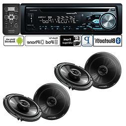 Pioneer DEH-X4800BT Single DIN In-Dash CD/AM/FM Bluetooth Ca
