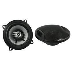 "uxcell 5"" Diameter 500W 2-way Two Coaxial Car Audio Speakers"