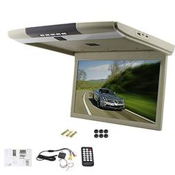 "15"" Display Overhead Monitor TFT Flip Down Car Monitor LED L"