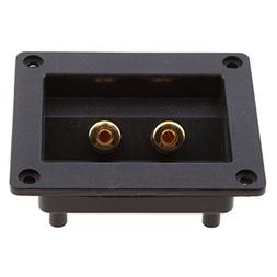 MagiDeal DIY Home Car Stereo Screw Cup Connectors Subwoofer