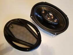 "Dual Electronics DLS694 6""X9"" 4-Way Car Speakers 200W"