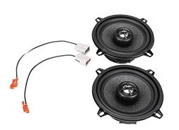 """2002-2008 Dodge Ram 1500 5.25"""" Rear Door Factory Speaker Upg"""