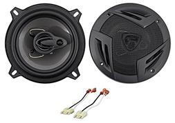 """5.25"""" Rockville Door Factory Speaker Replacement Kit for 198"""