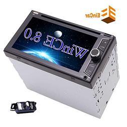 Double 2Din Car Stereo Autoradio Head Unit 6.2 Inch Illumina