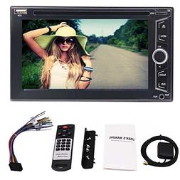 6.2 Inch Double Din Capacitive Touch Screen Car Audio Stereo